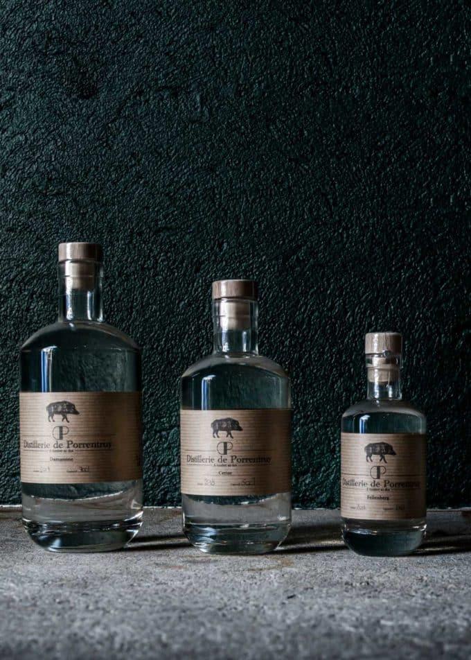 distillerie porrentruy trois bouteilles